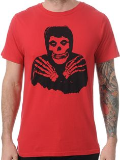 Iron Fist Red Misfits Crossed Hands T-Shirt | Iron Fist | FreestyleXtreme America | United States