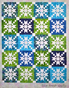 Free Tutorial - Stepping Stones Quilt Block by Lorna