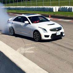 0 to 60 in 3.8 furious seconds. The #ATS #VSERIES makes an appearance at Cadillac Driver Academy.