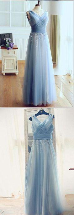 V-Neck A-Line Wedding Dresses,Long Wedding Dresses,Cheap Wedding Dresses,