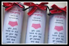 You just have to put on your big girl panties and deal with a birthday. Se… You just have to put on your big girl panties and deal with a birthday. See more birthday gag gifts and party ideas at www. Gag Gifts For Women, Best Gag Gifts, Cool Gifts, Funny Gifts, Diy Gifts, 50th Birthday Gag Gifts, Birthday Jokes, 50 Birthday, Birthday Ideas