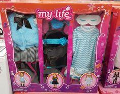 My Life Doll Stuff, My Life Doll Clothes, Barbie Clothes, Baby Alive Dolls, Baby Dolls, Baby Barbie, Reborn Dolls, Reborn Babies, My Life Doll Accessories