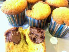Recettes d'une mère de famille nombreuse: Muffins au coeur Nutella
