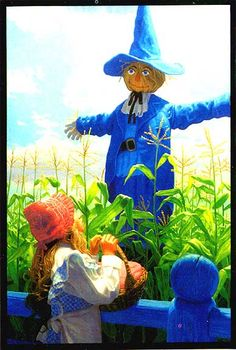 The Scarecrow by Greg Hildebrandt