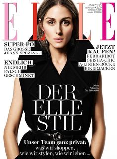 Olivia Palermo - Elle Magazine Cover [Germany] (March 2015)