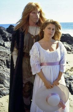 Ron Perlman and Linda Hamilton in Beauty and the Beast Ian Mckellen, Dan Stevens, Emma Watson, Live Action, 1980s Tv Shows, Vincent And Catherine, Ron Perlman, Tale As Old As Time, Second World