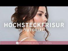Tutorial | Hochsteckfrisur im Undone Look ganz einfach | GLOSSY LOOKS - YouTube