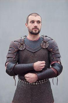 Brown leather armor by vofffka.deviantart.com on @deviantART