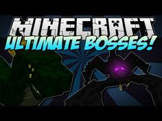 Minecraft | ULTIMATE BOSSES! (Emperor Scorpion, Basilisk  more!) | Mod Showcase [1.5.2]