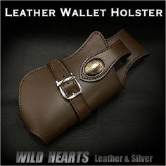 Leather Wallet Holster/Biker wallet case/Bikers Gear/WILD HEARTS/ワイルドハーツ http://item.rakuten.co.jp/auc-wildhearts/wc2194b27/