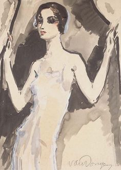 ' L'Elégante (Alice Cocéa)', c.1930 - Kees Van Dongen