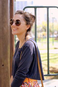 Moda Custom:  Oversize Vintage Inspired Metal Round Circle Sunglasses 8370