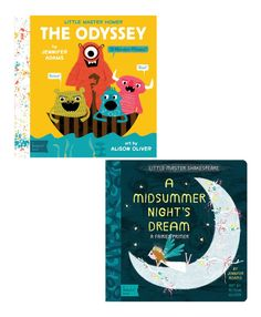Take a look at this Midsummer's Night Dream & The Odyssey Board Book Set today!