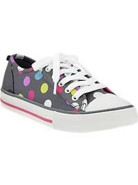 Girls Canvas Sneakers