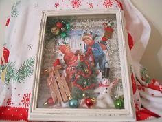 Vintage Christmas Shadow Box