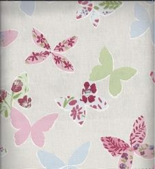 Prestigious Textiles Butterfly Vintage - Childrens Fabric - Curtains Made For Free