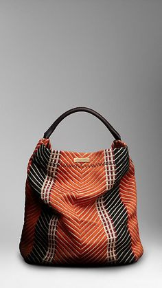 Burberry Large Vibrant Print Duffle Bag