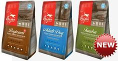 Orijen Freeze Dried Dog Food is gently freeze-dried to lock in all of the natural goodness of fresh and regional ingredients This new food offers all of the benefits of a raw diet, nourishing dogs as Mother Nature intended.  Now available at Global Pet Foods stores across Canada.