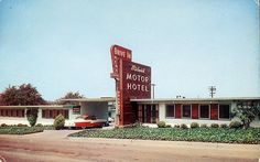 1000 Images About Vintage Motels And Hotels On Pinterest