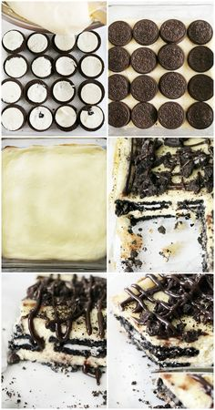 These decadent oreo cheesecake layered bars are easier to make than traditional cheesecake and sure to impress your friends and family! Get your chocolate fix.