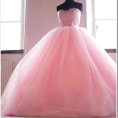 Princess dress, I would want some sparkles on it somewhere !
