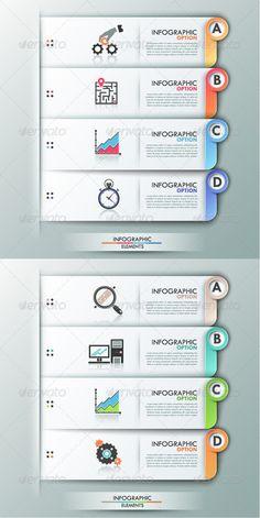 Modern Infographics Options Banner (2 Versions) Tempalte #design Download: http://graphicriver.net/item/modern-infographics-options-banner-2-versions/8168537?ref=ksioks