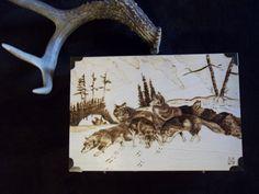 Treasure Box pyography