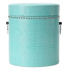 Marcella Storage / small stool ❤ #homedecor #turquoise #silkdegreeshome