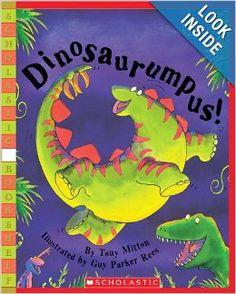 Dinosaurumpus!: Tony Mitton, Guy Parker-Rees: 9780439395168: Amazon.com: Books