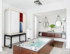 Modern Bathroom by Ray Booth in Nashville, TN