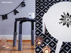 DIY Frosta Hocker / Ikea Hack // nicestthings