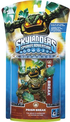 #ToysRus                  #Toys #Action Figures     #weapons #powers #generations #magical #frozen #skylanders #break #prism #alive #character #adventure #spy #world #pack           Skylanders Spyro's Adventure Character Pack - Prism Break                     Bring your Skylanders to life! Frozen in our world. Alive in Theirs.                                                                                                                 For Generations, the Skylanders have used their magical…