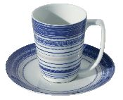 Blaane cup and saucer