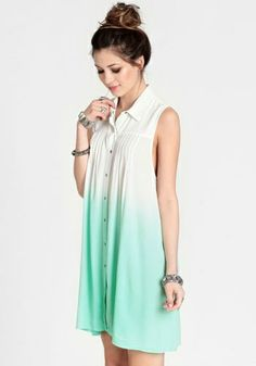 Mint Ombre Dress