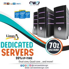 #dedicated_server & #discounts are available here  Starting at $29.00/mo.  http://cairowebdesign.com/en/dedicated