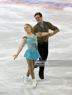 Julianne Seguin and Charlie Bilodeau of Canada skate during the pairs short program on October 23, 2015 in Milwaukee, Wisconsin.