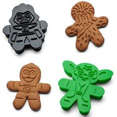 Create Your Own Delicious Clone Army With These Star Wars Cookie Cutters.