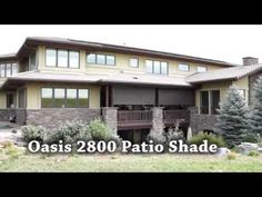 Treat yourself to Insolroll® Oasis 2800 Patio Shades, found at Innovative Openings