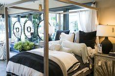 Dreamy bed at Gardenology Newport Beach