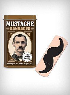 Mischievous Mustache Bandages