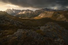 Peaks and Shadows - Vanoise National Park. Best Viewed on black or here: https://www.flickr.com/photos/efossati/15300979696/