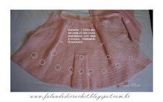 Veja como fazer as ampliações da saia http://falandodecrochet.blogspot.com.br/2012/08/manga-medidas-e-ampliacoes-da-saia-do.html