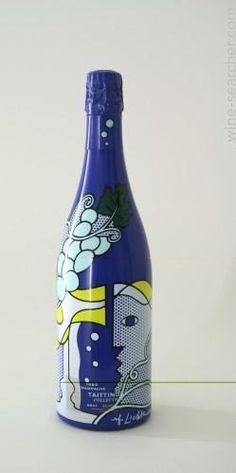 Roy Lichtenstein Wine Bottle!!