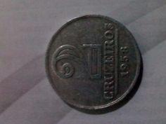 maravilhosa moeda de 1958 em alúminio - Brasil único exemplar