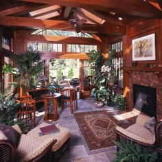 Sunroom Dining Design Ideas, Pictures, Remodel and Decor
