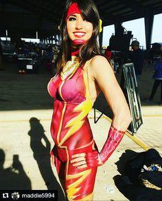Flash  Credit @maddie5994  #flash #theflash #red #comics #comicbooks #bodypaint #bodypaintmodel #comiccon #inlove #artofinstagram #artist #instalike #instalove #selfie #nerd #nerdgirl #nerdalert #smile #comicbookgeek #geekgirl #love #like #followme