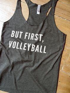 Suzy Squats funny volleyball tank top, perfect to wear during your next volleyball game or as a gift for a volleyball loving friend! You can find more funny sports clothing for the volleyball court at the Suzy Squats store by clicking the link above.