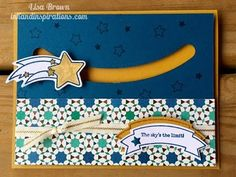 The Sky's the Limit Stampin' Up! Slider Card