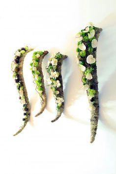 hanging blooms decor - hängender Blumenschmuck