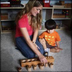 How to Present a Montessori Material